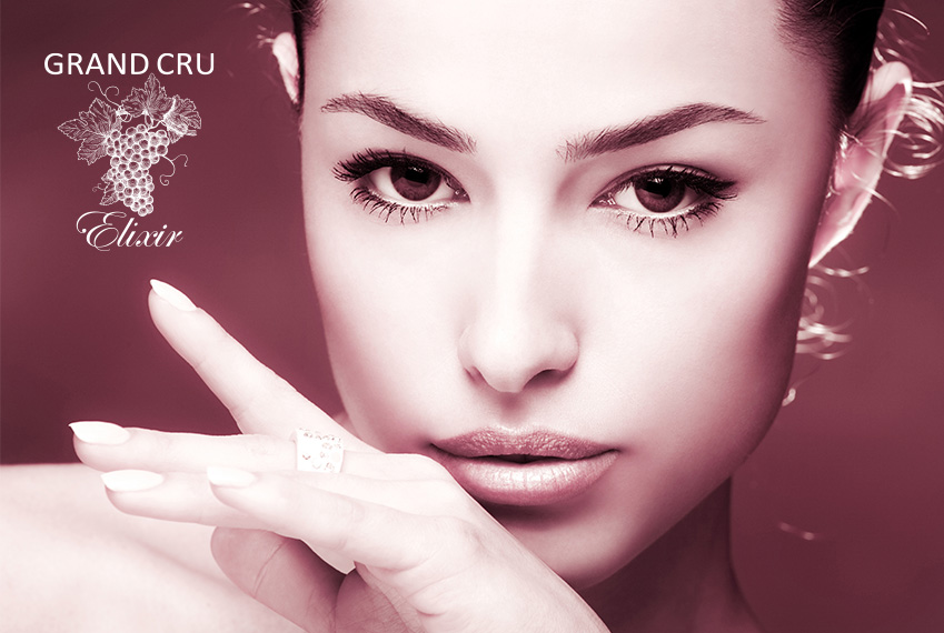 Grand Cru Elixir - инновационные омолаживающие процедуры для лица на основе флавоноидов и стволовых клеток красного винограда